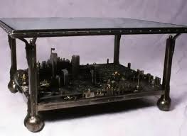 custom made coffee tables custommade curator cityscape coffee table huffpost