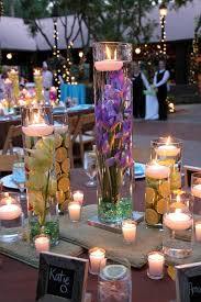 Vase And Candle Centerpieces by Floating Candles In Glass Vases The Bright Ideas Blog