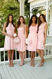 lauren ralph lauren u0027s perfect blush bridesmaids dresses as unique