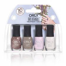 orly nail polish breathables bridal mini kit bransus cosmetics