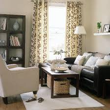 relaxed modern living room brown couch living room dark brown