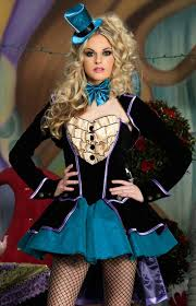 Alice Wonderland Costume Halloween Deluxe Alice Wonderland Fancy Dress Queen Costume