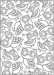 owl and large moon coloring page owl and large moon coloring page