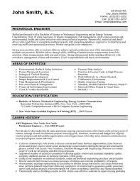 Resume For Mechanical Fresher Resume Format For Mechanical Engineers Download Resume Format