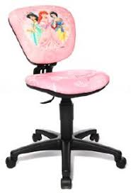 chaise de bureau enfants princesses