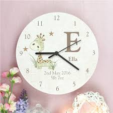 personalised clocks notonthehighstreet com