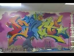 another graffiti mural at concepts dance studio johnstown pa