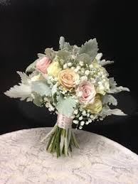 baby s breath bouquet blush pink babys breath dusty miller bouquet