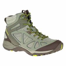 merrell moab mid goretex hiking grey women s shoes authorized site