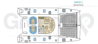 Catamaran Floor Plans Nemo 1 Galapagos Catamaran Greengo Travel