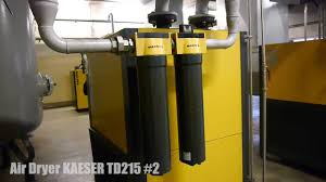 air dryer kaeser td215 2 youtube