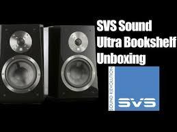 Svs Bookshelf Speakers Svs Sound Revolution Ultra Bookshelf Unboxing Youtube
