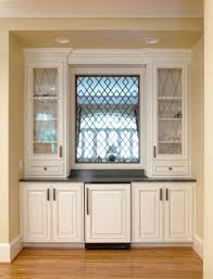 Classic Style Cabinetry Walker Woodworking Wow Is The Leaded - Leaded glass kitchen cabinets