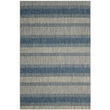 plaid area rugs safavieh courtyard gray navy 8 ft x 11 ft indoor outdoor area