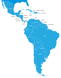 Map Of Bolivia South America by Map Of Central And South America Map Of South America And Central