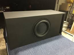 building a subwoofer box for home theater tritsub 10 a modest 10