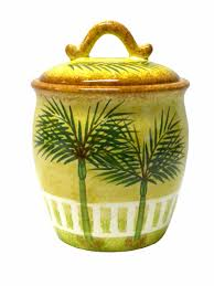 28 beach themed kitchen canisters coastal glass canister ceramic palm tree tropical beach theme canister kitchen