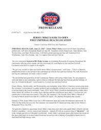 Community Coupons Coupons You Can Jersey Mike U0027s Subs To Open First Imperial Beach Location On
