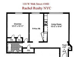 15 Cpw Floor Plans by 110 West 96th Street 10 D Upper West Side New York Ny 10025