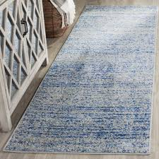 Modern Blue Rugs Safavieh Adirondack Modern Blue Silver Runner Rug 2 6 X 14