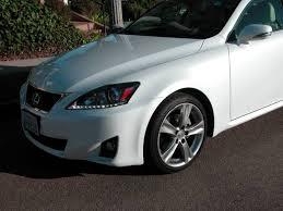 lexus white pearl paint 2011 lexus is 250 navigation low mileage one owner california car