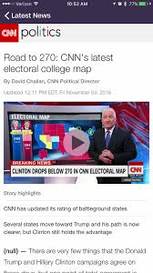 Us Election Map by Best U S Election Apps For Iphone U2014 Find Out Who U0027ll Be The Next