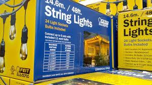 Solar Pillar Lights Costco - solar umbrella string lights solar holiday lights solar lights