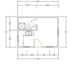 Vacation House Floor Plans 12 X 16 Cabin 12x16 Cabin Floor Plans The Georgia Cabin