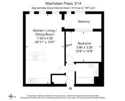 Manhattan Plaza Apartments Floor Plans by 1 Bedroom Flat For Sale In Manhattan Plaza Manhattan Tower