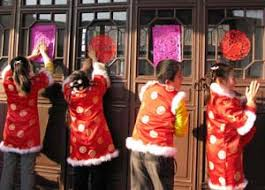 New Year House Decoration by Spring Festival Custom Chinese New Year Decoration