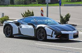 ferrari 488 modified 2020 ferrari 488 successor spy shots autozaurus