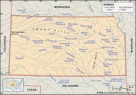 Kansas rivers images Kansas history geography state united states jpg