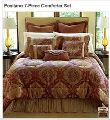 Chris Madden Bedroom Set by Chris Madden Positano 7 Piece Comforter Set Queen New