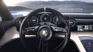 porsche mission e sketch porsche mission e concept interface design youtube