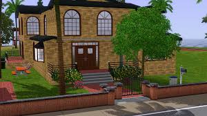 front view of my sims 3 house u2013 massive epicjordan