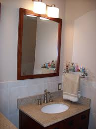 bathroom unusual small square bathroom mount mirror over single