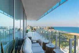 glass south beach residence seeks 13m curbed miami