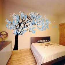 Decorationssakura Tree Wall Art Decorations For Bedrooms Decor - Ideas for wall art in bedroom