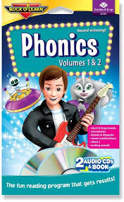 phonics volumes i u0026 ii audio u0026 book u2013 rock u0027n learn