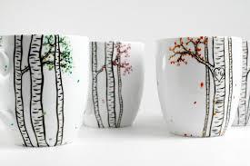 Decorating Porcelain Mugs Diy Mug Art Craft Projects For Every Fan