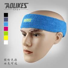 sweat headbands high quality cotton sweat headband for sports men sweatband women