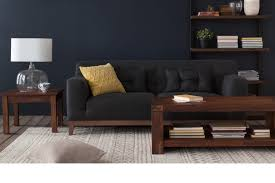 Low Height Sofa Philippe Coffee Table Structube Walnut Super Low Black Idolza