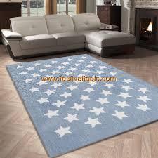 tapis de chambre tapis salon 120x170cm etoile chambre vintage en acrylique