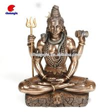 God Statue by Polyresin Hindu God Statues High Quality Handmade Religious Figure