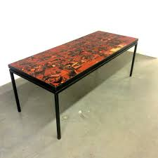 big dining table with tile top 1967
