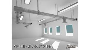 ventilation system 3d library 3d models furnitures objects toys