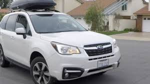 2016 white subaru forester 2017 subaru forester 2 5i premium detailed review and test drive