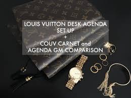 louis vuitton desk agenda louis vuitton desk agenda set up grit glamour