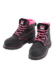womens safety boots uk s safety work boots black pink work kit