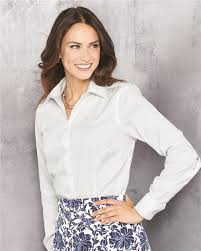 van heusen 13v0144 women u0027s non iron pinpoint oxford shirt